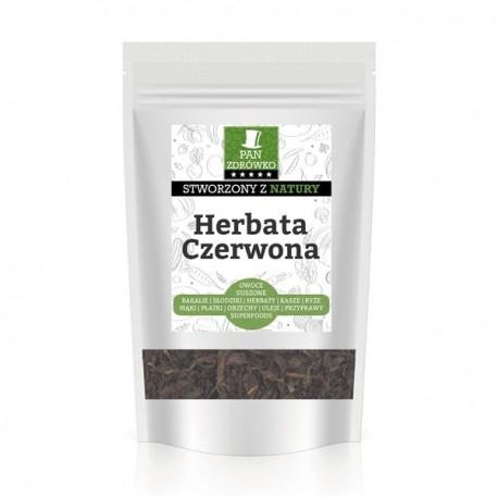 Herbata czerwona liściasta Pu-erh