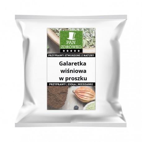 Galaretka wiśniowa w proszku Bez sztucznych barwników